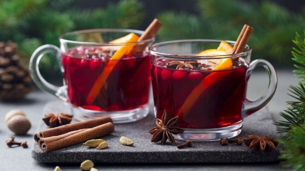 Rose Hips are loaded with Vitamin C, so drink this hot tea to keep the colds and flu away.  Sage Hill Botanicals.