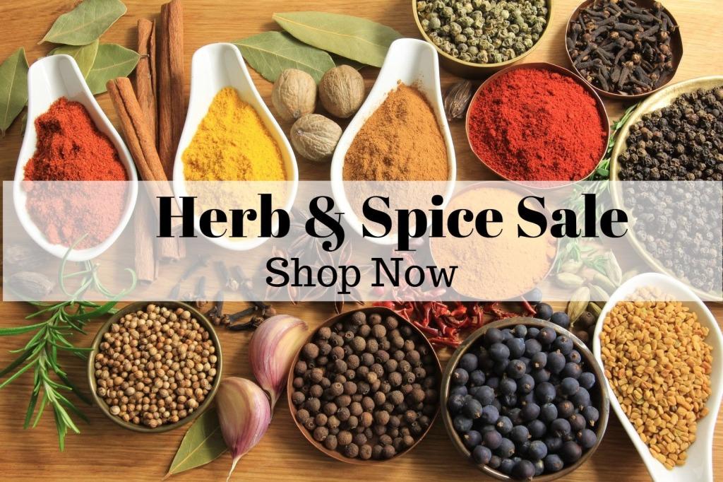 Herb and Spice Sale, Sage Hill Botanicals