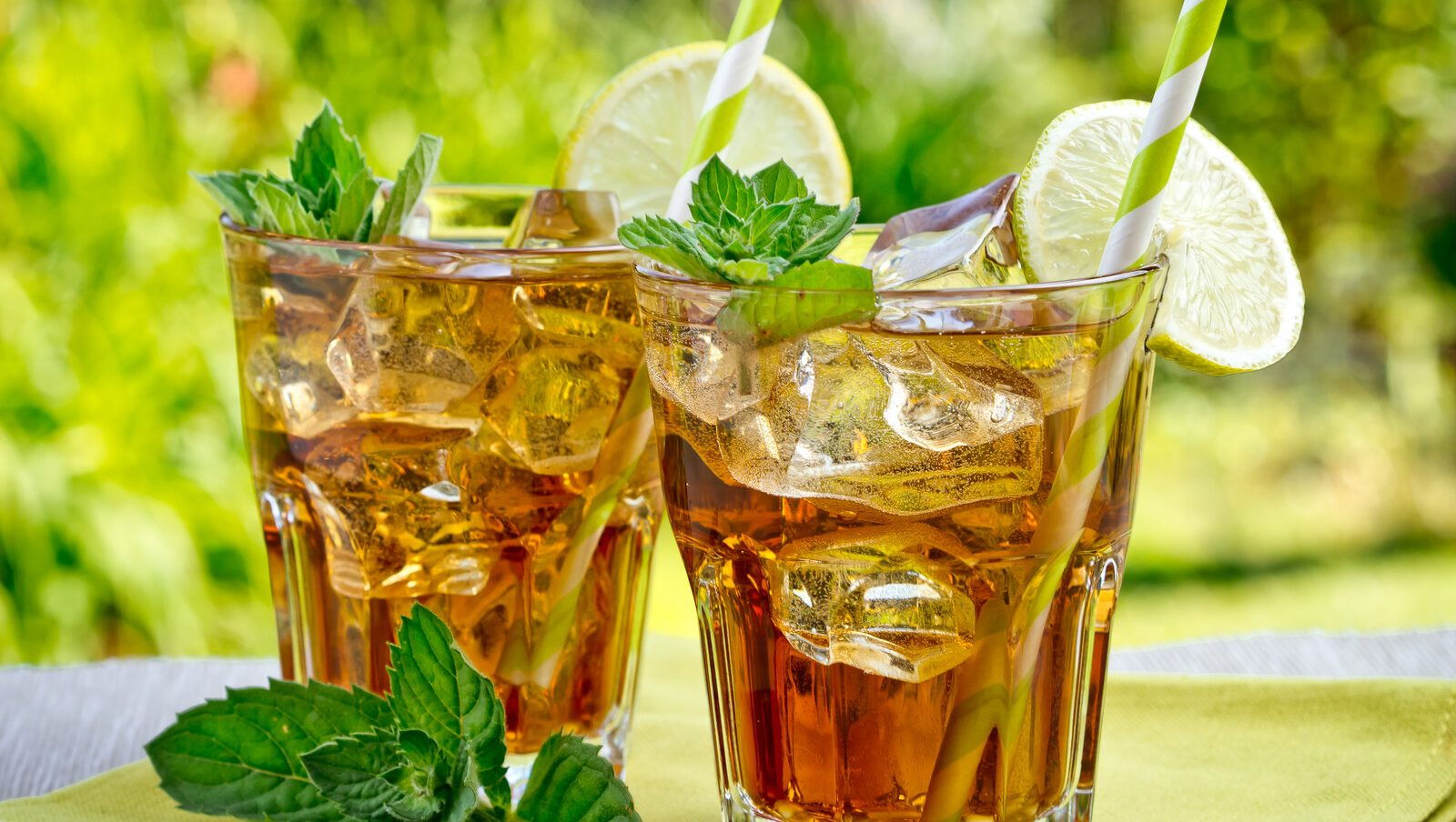 Peppermint Iced Tea from Sage Hill Botanicals